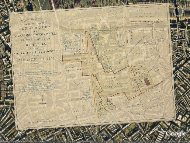 Google Maps Londra mappe antiche e moderne