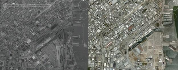 Foto prima e dopo la seconda guerra mondiale