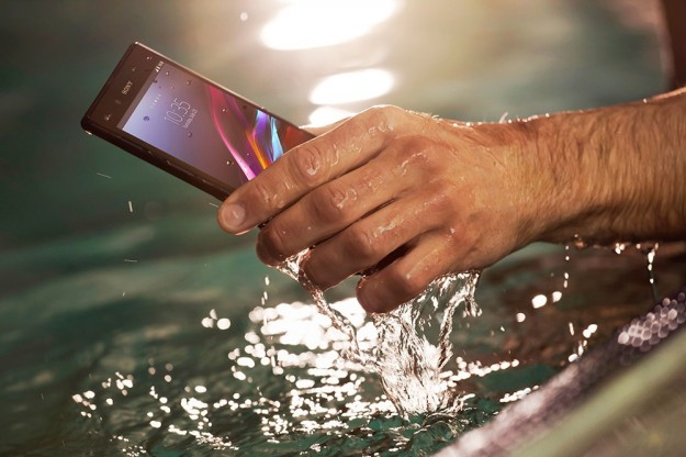 Sony Xperia Z Ultra waterproof