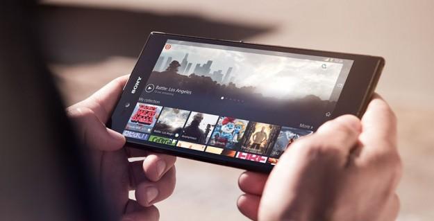 Schermo gigante di Sony Xperia Z Ultra