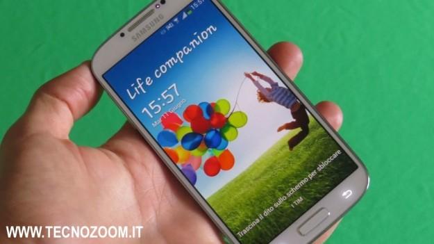 Samsung Galaxy S4 recensione