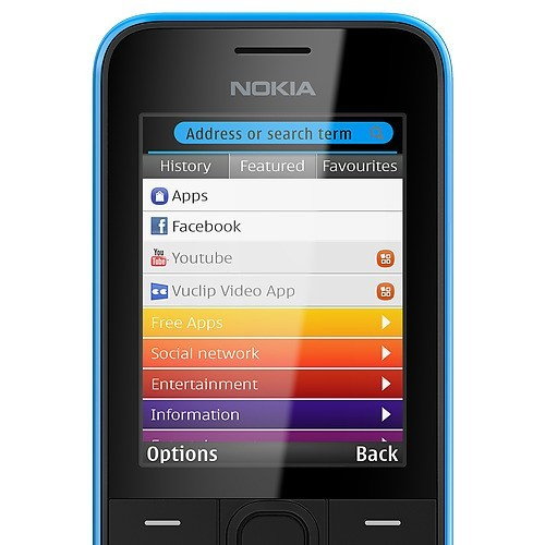 Nokia 207 Xpress Browser