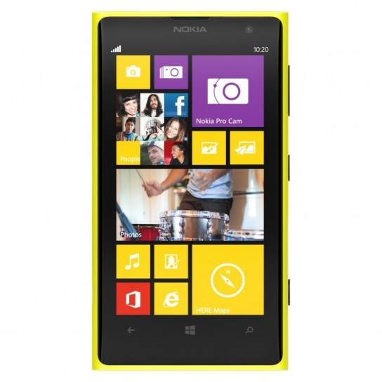 Nokia Lumia 1020 con Windows Phone 8