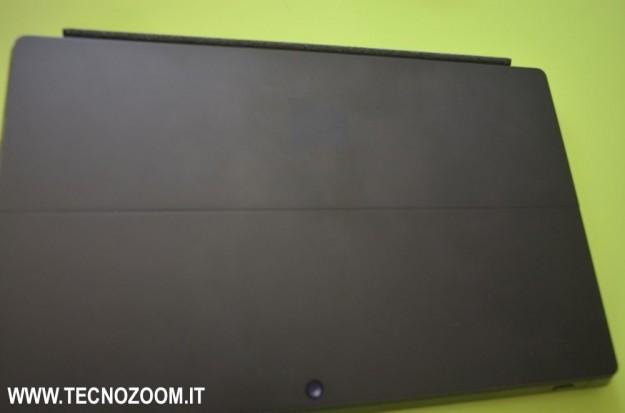 Parte posteriore di Microsoft Surface Pro