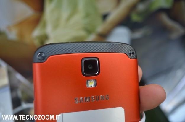 Samsung Galaxy S4 Active fotocamera