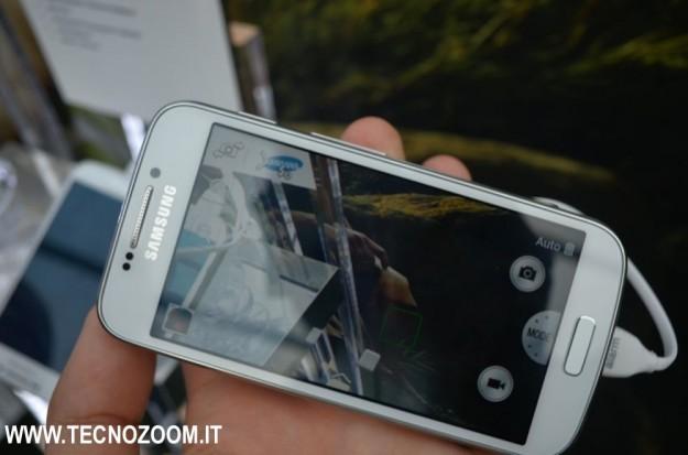 Samsung Galaxy S4 Zoom menu fotografico
