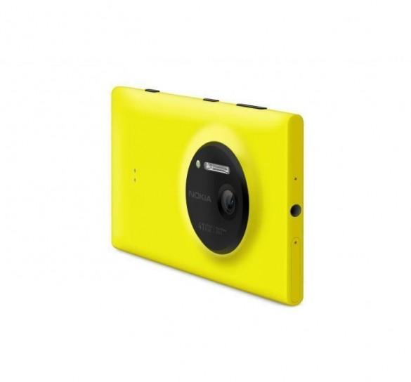 Nokia Lumia 1020 giallo