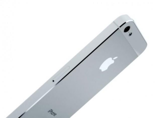 iPhone 5 argento