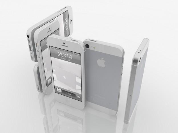iPhone 5 bianco collage