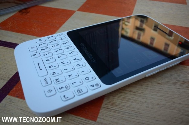 Blackberry Q5 tastiera