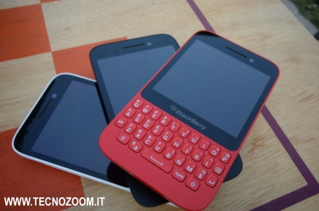 Blackberry Q5 tris