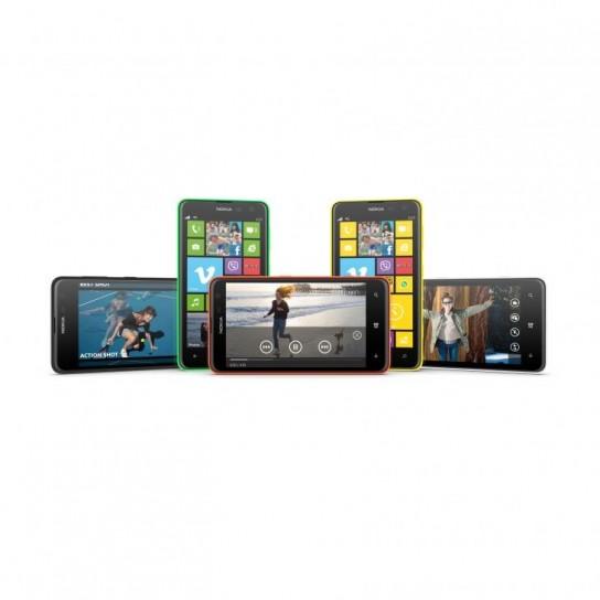 Nokia Lumia 625 colori