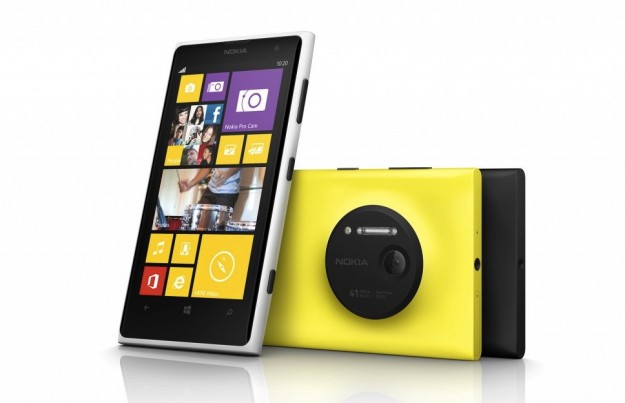 Nokia Lumia 1020 design