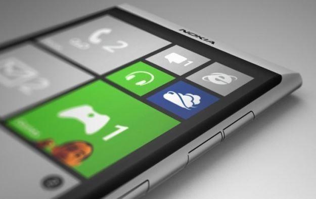 Particolare sulla parte superiore di Nokia Lumia 928