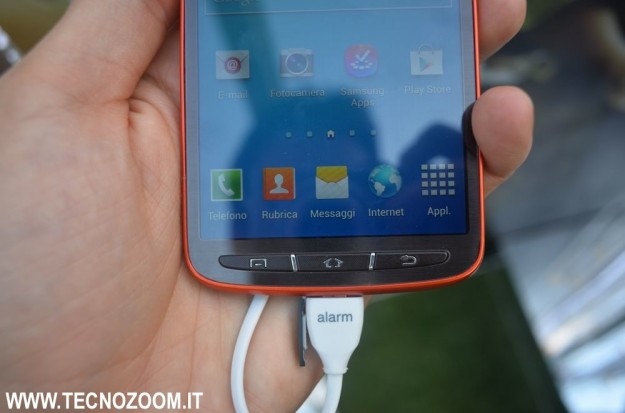 Samsung Galaxy S4 Active pulsanti