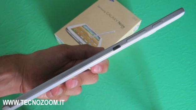 Samsung Galaxy Note 8 spessore