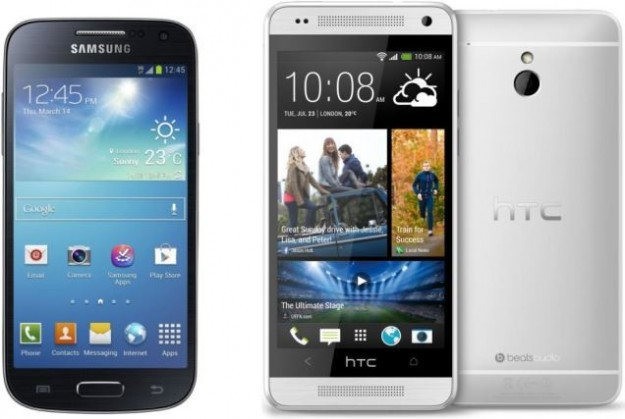 Samsung Galaxy S4 Mini vs HTC One Mini: confronto [FOTO]