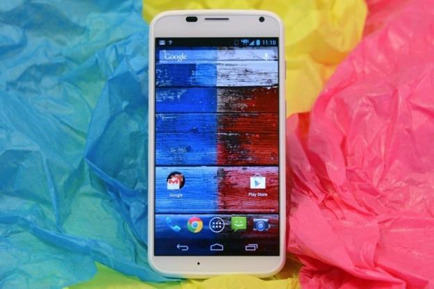 Motorola Moto X fronte e retro