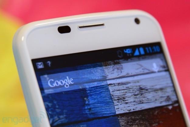 Motorola Moto X parte superiore