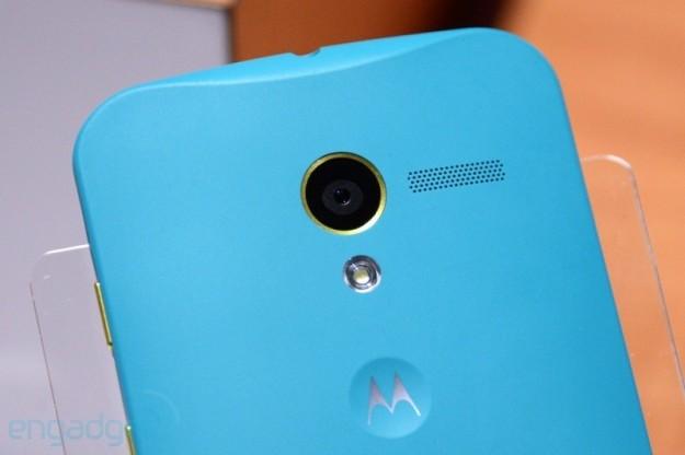 Motorola Moto X azzurro