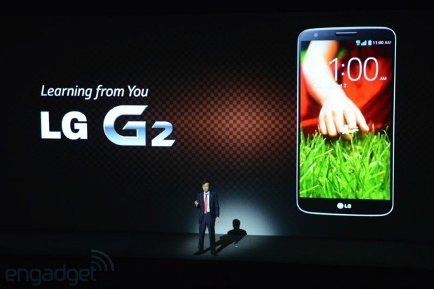LG G2 presentazione