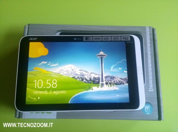 Acer Iconia W3 videorecensione