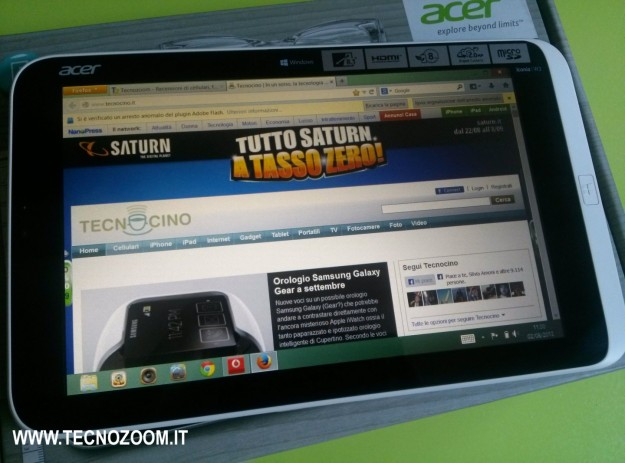Acer Iconia W3 Tecnocino