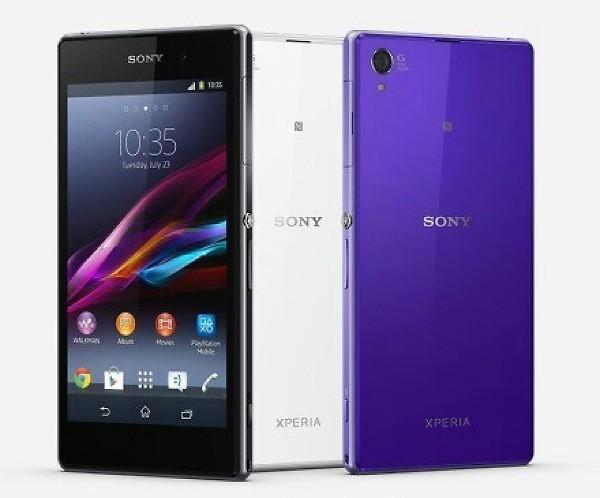 Sony Xperia Z1 colori