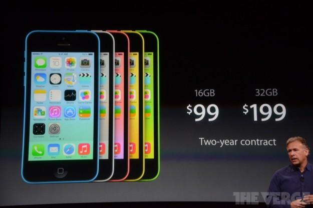 iPhone 5C prezzi ufficiali