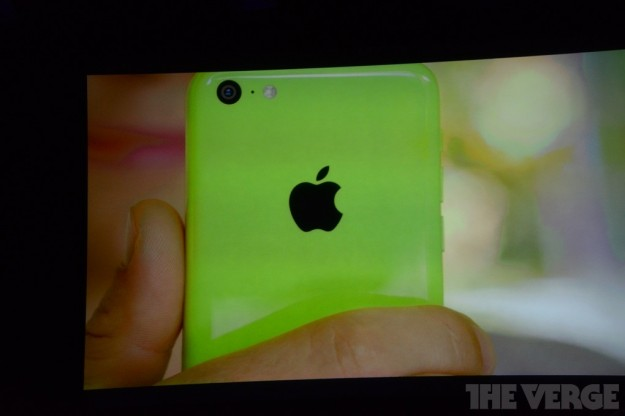 iPhone 5C verde pisello