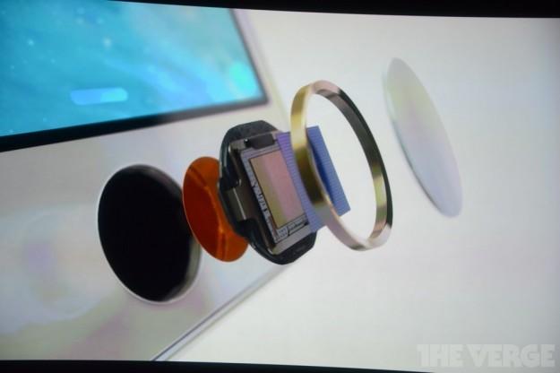 iPhone 5S sensore impronte