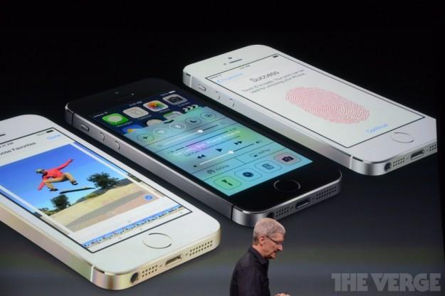 iPhone 5S colori e schermi