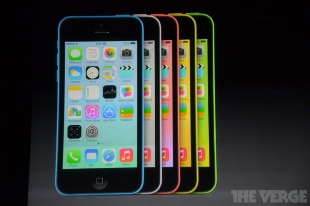 iPhone 5C ufficiale
