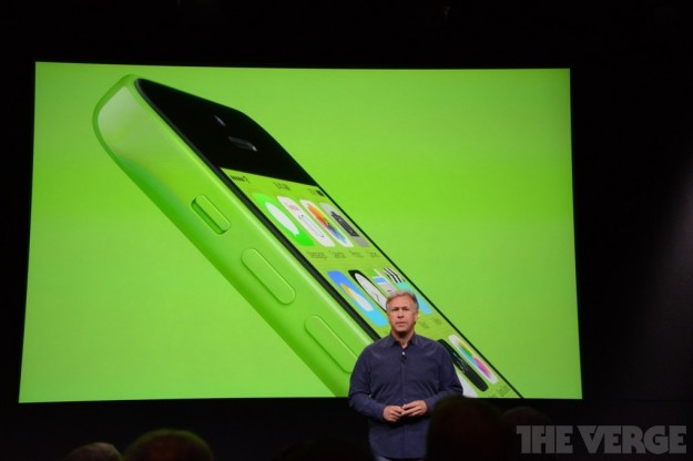 iPhone 5C verde lime