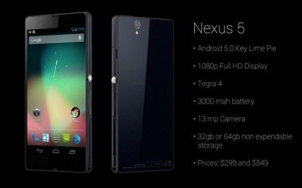 Nexus 5 rumors sulle caratteristiche tecniche