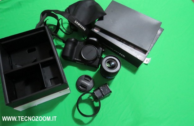 Samsung Galaxy Camera NX videorecensione [FOTO e VIDEO]