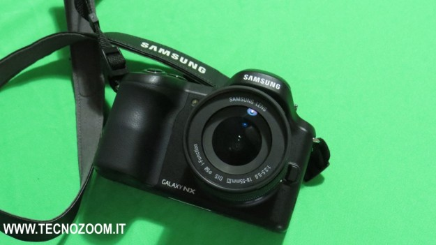Samsung Galaxy Camera NX fotocamera
