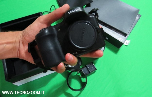 Samsung Galaxy Camera NX hands-on