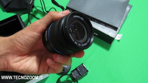 Samsung Galaxy Camera NX Obbiettivo