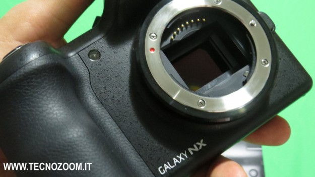 Samsung Galaxy Camera NX sensore