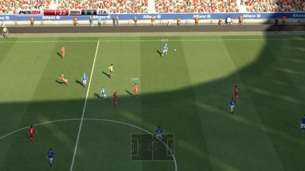 PES 2014 gameplay