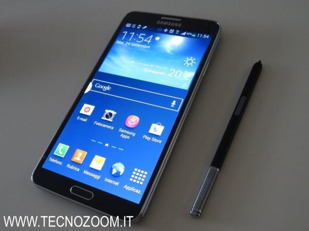 Samsung Galaxy Note 3 con pennino