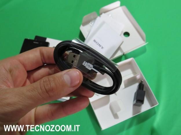 Sony Xperia Z1 cavo USB