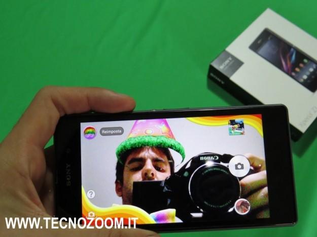 Sony Xperia Z1 effetti foto