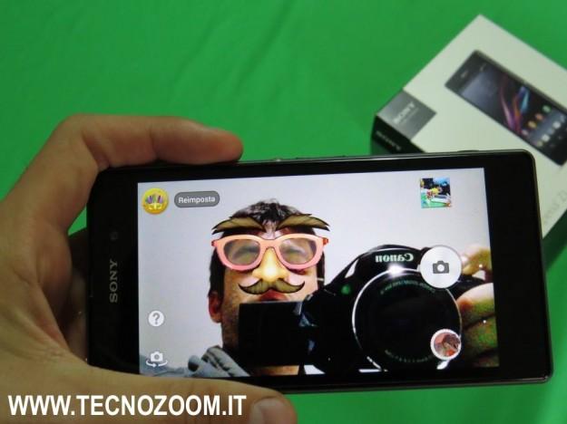 Sony Xperia Z1 foto effetti