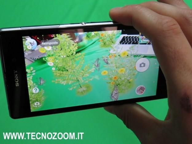 Sony Xperia Z1 realta aumentata