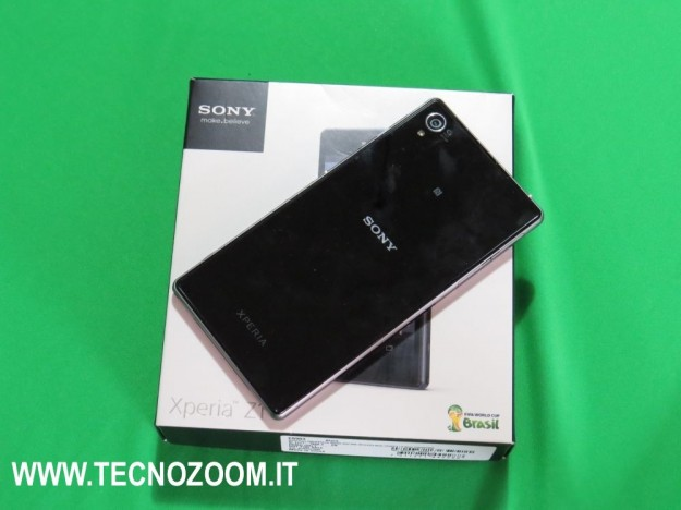 Sony Xperia Z1 retro e box