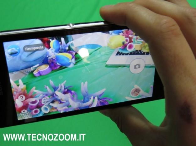 Sony Xperia Z1 sotto acqua