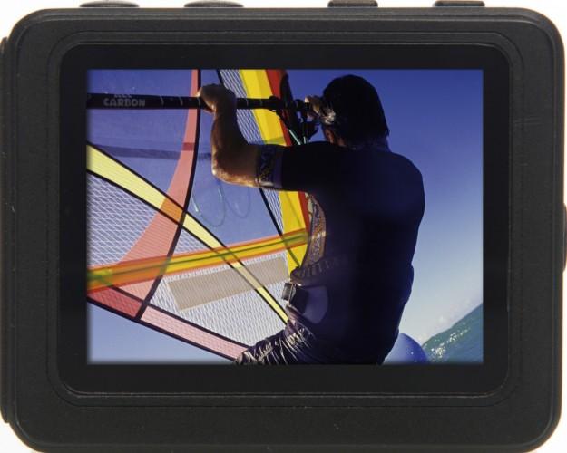 Rollei Actioncam S-50 schermo