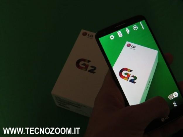 LG G2 fotocamera